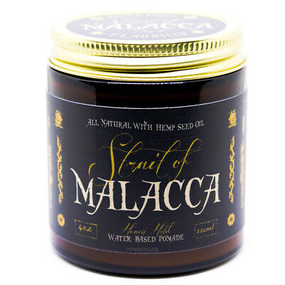 Flagship Pomade Co. Strait of Malacca Water Based Pomade 4oz