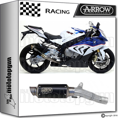Arrow Kit Muffler Gp2 Stainless Steel Dark Race Bmw S 1000 Rr 2015 15 2016 16