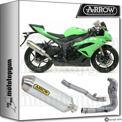Arrow Full System Race-Tech Aluminium Hom Kawasaki Zx6R 2012 12 2013 13 2014 14