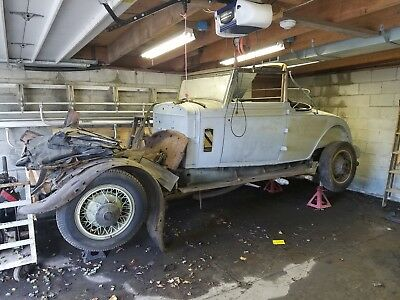 1931 cadillac fleetwood project car