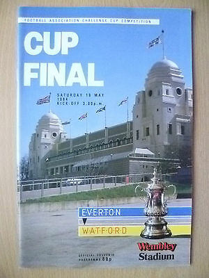 1984 FA CUP FINAL- EVERTON v WATFORD (Exc*)
