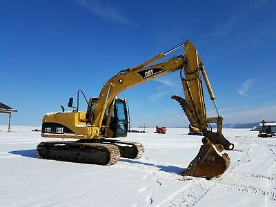 2001 Cat 312CL Excavator Track Hoe Diesel Machine w/ Hydro Quick Coupler & Thumb