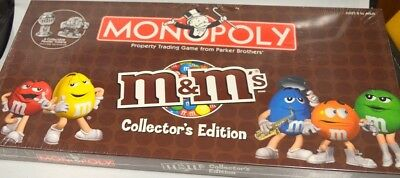 "m&m's Collector's Edition ""Monopoly Board Game""  Factory sealed."
