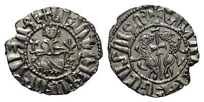 B2: Medieval:Crusaders :Cilician Armenia Levon I 1198-1219 silver hammered coin