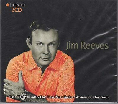 """Jim Reeves """"Orange Collection"""" 2cd Set NEW & SEALED - 24 Tracks Posted From UK"""