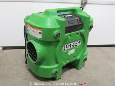 Dri-Eaz F284-GRN Air Scrubber 500CFM 115V Variable Speed Filtration bidadoo