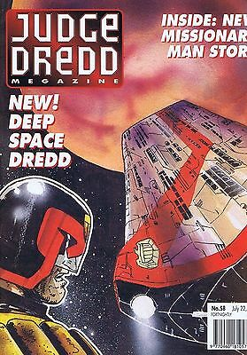 JUDGE DREDD MEGAZINE no. 58