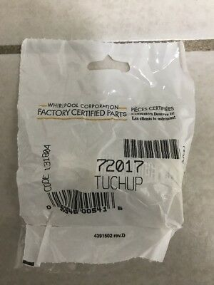 Genuine Whirlpool Kenmore Maytag Appliance Touch Up Paint White 72017 MANY USES