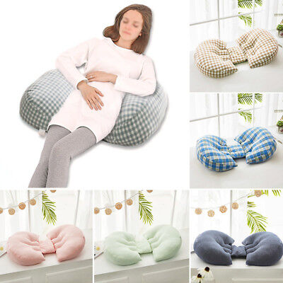 Pregnancy Pillow Soft Back Belly Support Cushion Pratical Maternity Sleeping Aid
