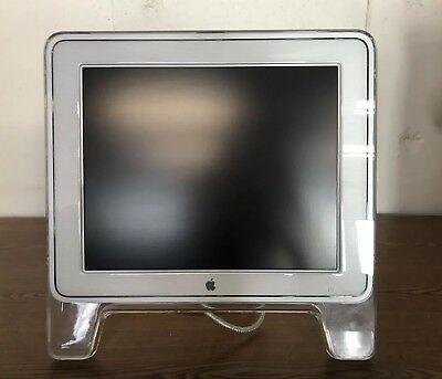 "Apple Cinema Display M7649 17"" Flat Panel LCD Display Monitor"