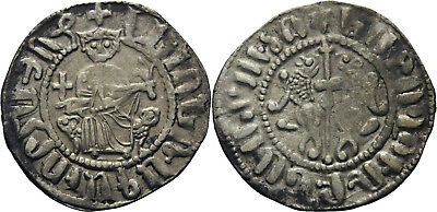 B7: Medieval:Crusaders :Cilician Armenia Levon I 1198-1219 silver hammered coin
