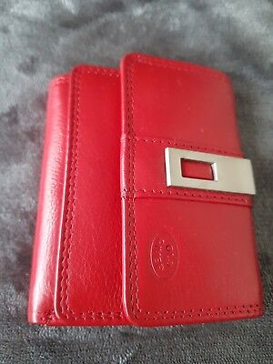 Old River Small Leather Ladies Purse/ Wallet and upto Card Slot.New RRP £16.99