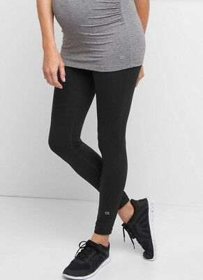 Maternity GapFit Blackout Technology gFast full panel leggings ~ NWT XS