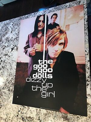 Goo Goo Dolls 98 Dizzy Up The Girl 2-Sided Original Promo 24X18 Poster 2 Sided