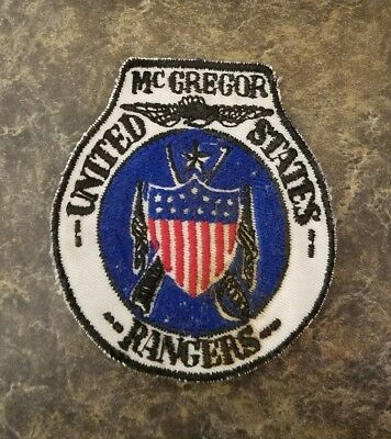 McGregor United States Rangers badge