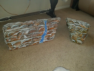 Christmas Village Mountain Display Platform - Train Tunnel - 2 Pieces - Large