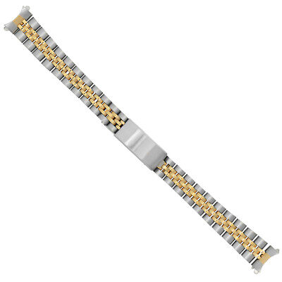 Jubilee Watch Band Bracelet For Lady 26Mm Rolex 62510D Datejust Two Tone 13Mm