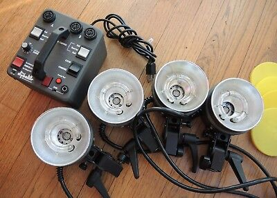 Dynalite Photo lighting equipment RP500 pack / 1015 heads x4