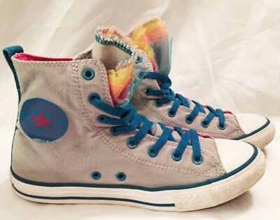 Converse Shoes Girls Size 5 Converse All Star Hi Shoes Chuck Taylor Shoes Canvas