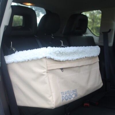 Travelling Pooch Car Booster Seat, Pet Seat