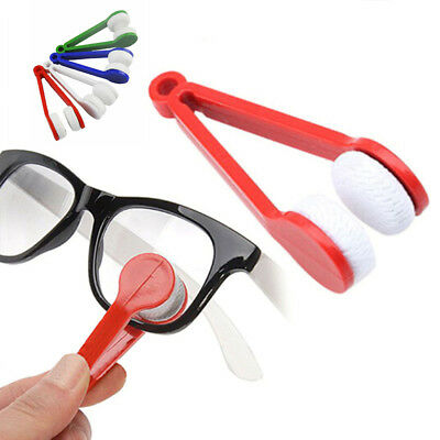 1/5pcs Lens Microfibre Optic Cleaner Glasses Clean Cloth Spectacles Eyeglasses