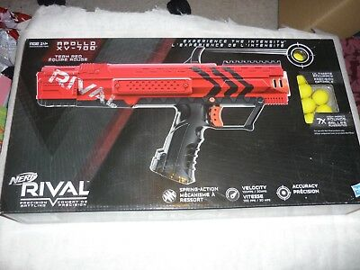 NEW & SEALED Hasbro NERF Rival Apollo XV-700 Team Red Ball Blaster