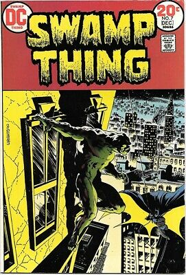 Swamp Thing Comic Book #7 DC Comics 1973 VERY FINE+