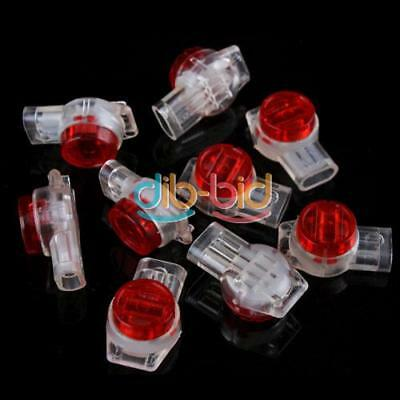 50X Securely UR2 3-Wire Contact IDC Connectors Insulation Displacement DQCA