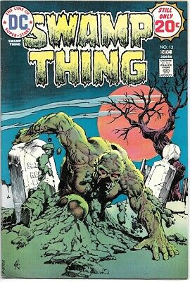 Swamp Thing Comic Book #13 DC Comics 1974 VERY FINE