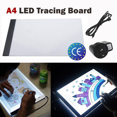 A4 Artcraft Tracing Light Pad Box Drawing Board Stencil Diamond Art Painting USB