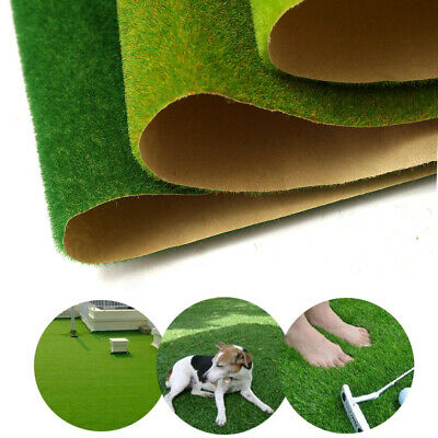 Artificial Grass Lawn Turf Mat Dollhouse Miniature Garden Landscaping Ornament