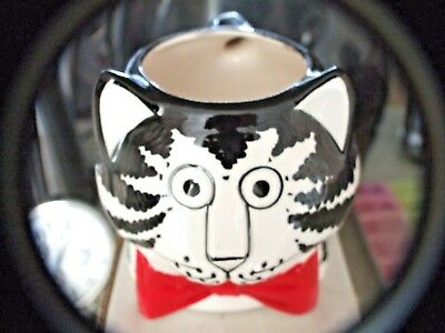 Kliban Cat With Red Bow Tie Mug