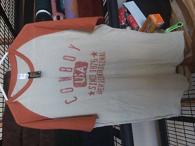 'Cowboy USA T-shirt Size XL