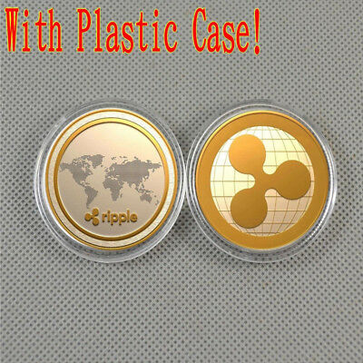Mini Ripple Badge Ripple Non-Currency Coins Collectors Golden 4*4*0.25cm