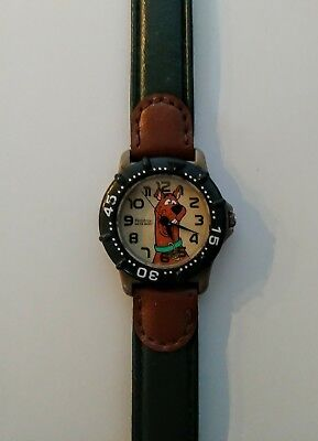 Vintage Scooby Doo Wrist Watch Hanna Barbera (2000 E. Gluck Corporation)!