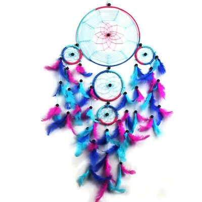 Large Dream Catcher Traditional Colorful Feathers Wall Home Hanging Ornament New