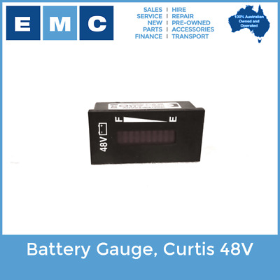 Battery Gauge, Curtis 48Volt