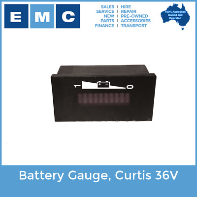 Battery Gauge, Curtis 36Volt