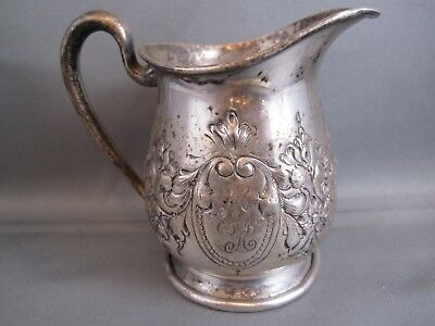 Rare M.fred Hirsh Sterling Silver Creamer Pitcher Jug Estate Silver #347