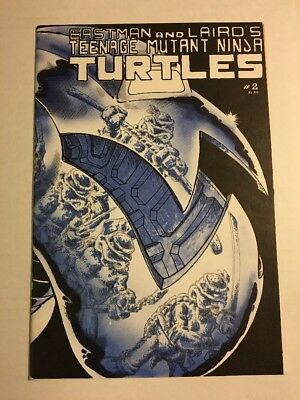 Teenage Mutant Ninja Turtles #2 NM 9.4-9.8 (1st Print) 1st April O'Neil CGC It