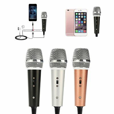 Microphone Mobile phone recording for karaoke singing for Android Iphones LOT EN