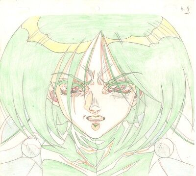 Anime Genga not Cel Battle Angel / Gunnm (handdrawn by YUTAKA MINOWA) #5
