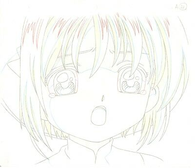 Anime Genga not Cel Card Captor Sakura #142