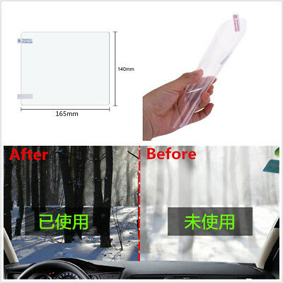 2 X 165*140mm Car Off-Road Anti Fog Nano Coating Window Glass Protective Sticker