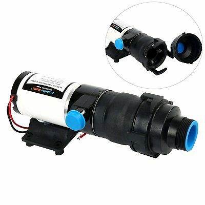 【AM】12V 45 LPM 12GPM Quick Release RV Mount Macerator Waste Water Pump,Boat RV