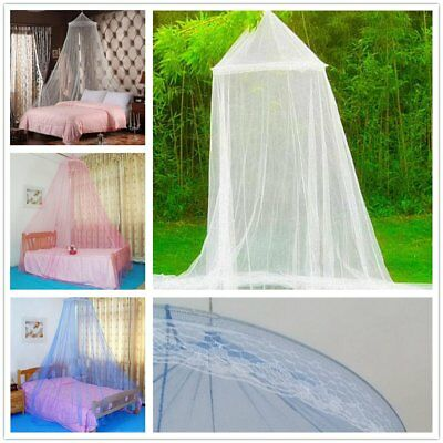 Elegant Round Lace Insect Bed Canopy Netting Curtain Dome Mosquito Net nice CO