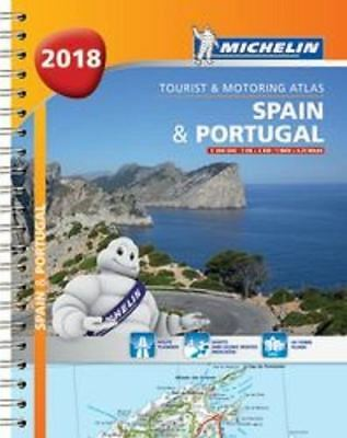 Spain & Portugal 2018 - Tourist and Motoring Atlas (A4-Spiral): 2018