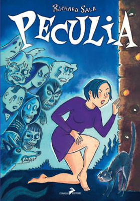 Fumetti Rabbit Editore Peculia Richard Hall New Comics