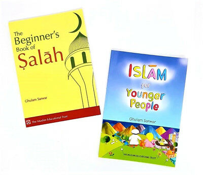 Islam for Younger People / The Beginner's Book of Salah - 2 Books (Paperback)