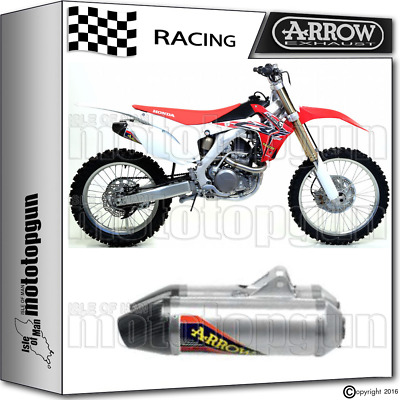 Arrow Kit Exhaust Thunder Off-Road V2 Carby Cup Race Honda Crf 450 R 2015 15